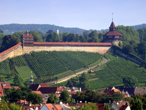 esslingen castle thick tower