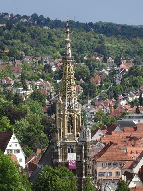 esslingen frauenkirche tower