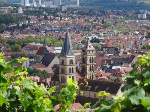 esslingen city church st dionys