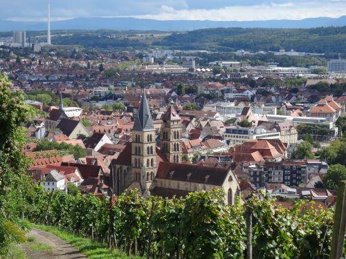 esslingen city church neckarhalde