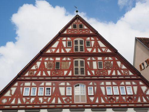 esslingen old town fachwerkhaus