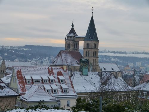 esslingen church roofs