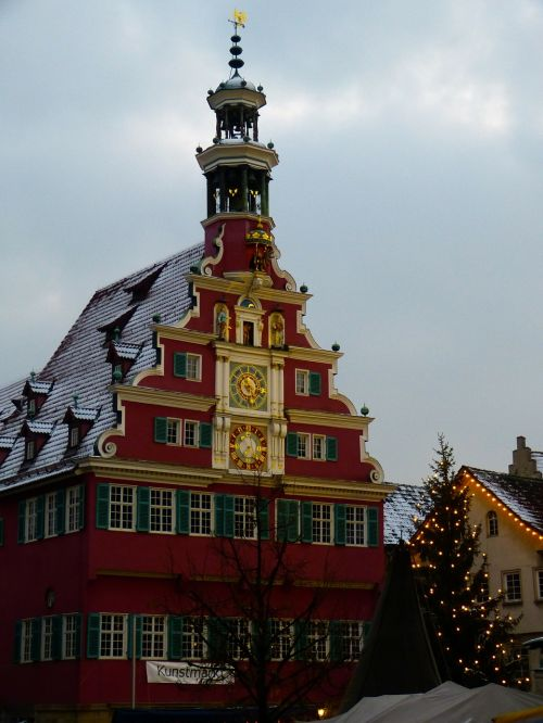 esslingen town hall christmas market