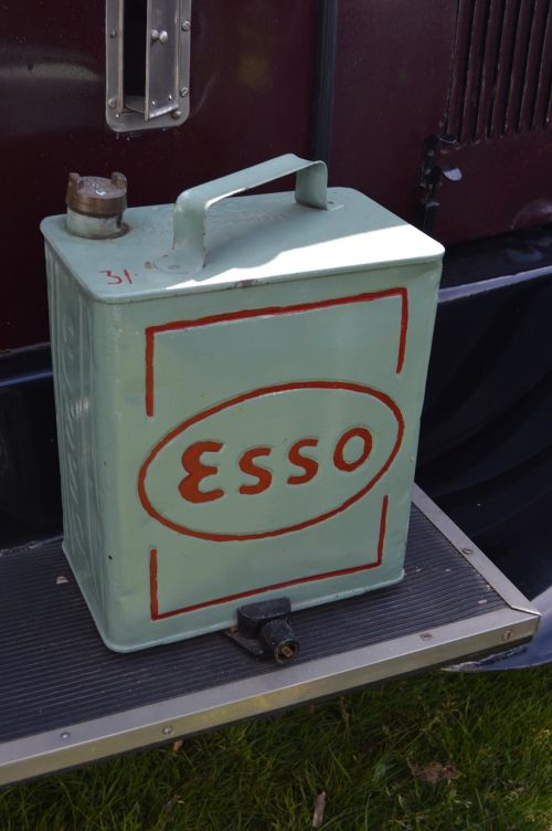 esso oil can motoring