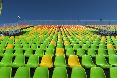 estadio  the stands  the olympics