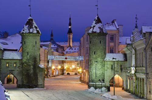 estonia europe winter