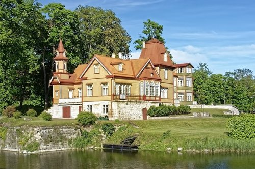 estonia  island of saaremaa  kuressaare