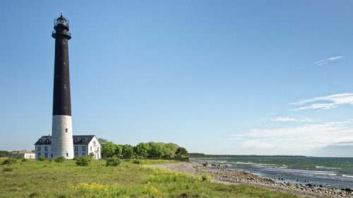 estonia  island of saaremaa  the lighthouse is actually