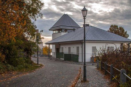 esztergom  autumn  rose garden restaurant
