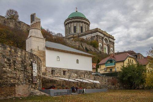 esztergom  autumn  mosque
