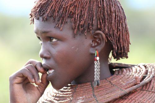 ethnic face female