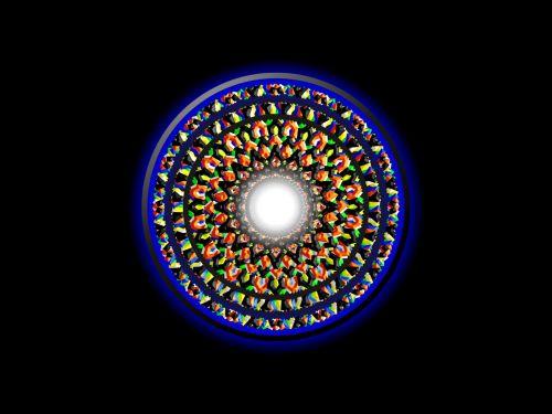 Ethnic Abstract Mandala