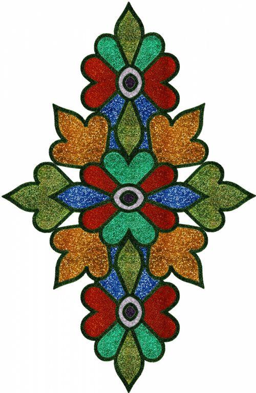 Ethnic Floral Motif 2