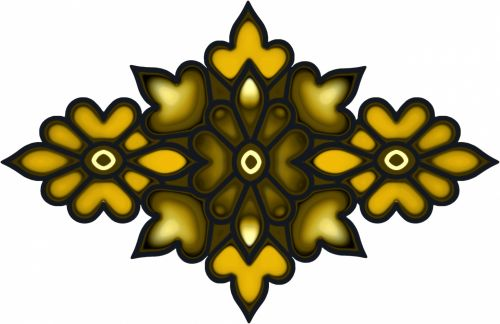 Ethnic Floral Motif