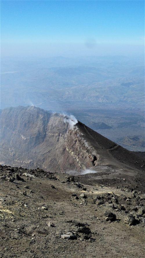 etna italy volcano