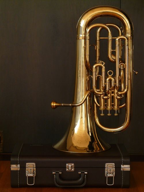 euphonium bugle brass instrument