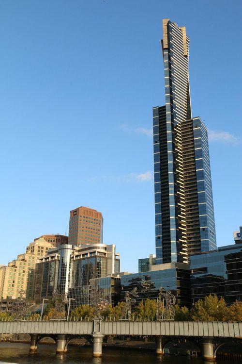 eureka skydeck 88 bokštas,Melburnas,dangoraižis,miestas,metropolis,butas,orientyras,Australijos orientyras