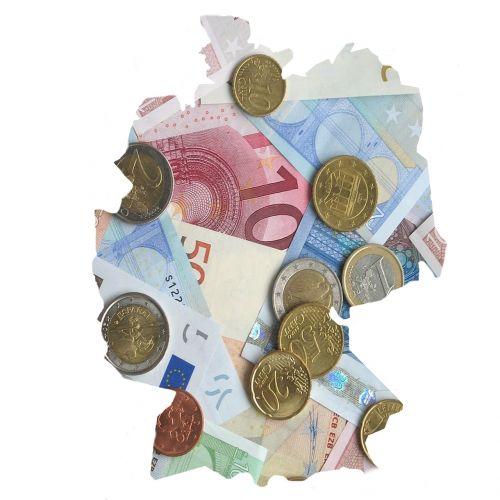euro cash bank note