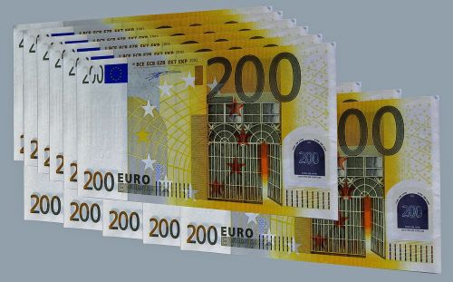 euro euro bills europe