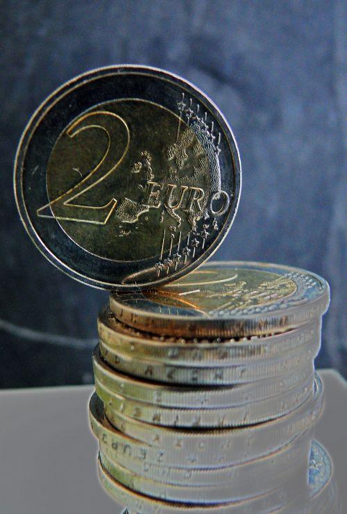 euro euro coins money