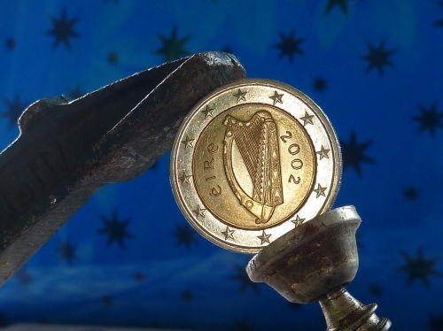 euro currency ireland