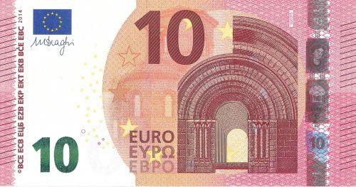 euro 10 money