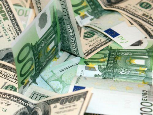 euro dollars money