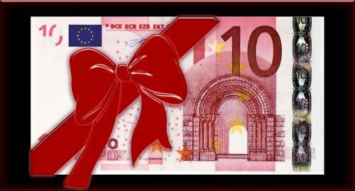 euro bill loop