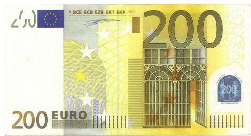 euro europe banknote