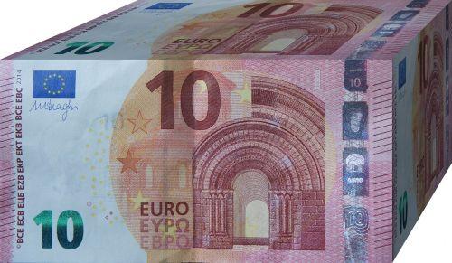 euro 10 paper money
