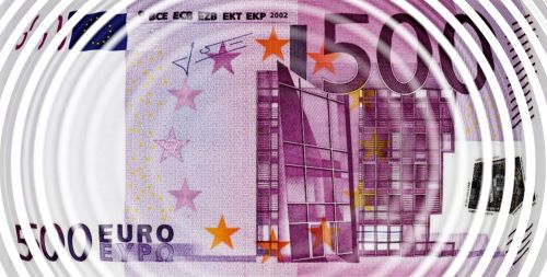 euro bill wave