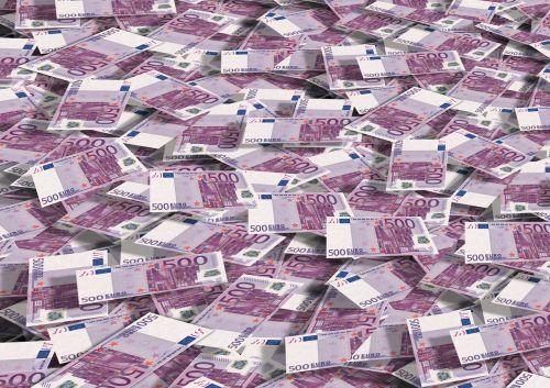 euro stack money