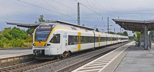euro rail regional traffic electrical multiple unit