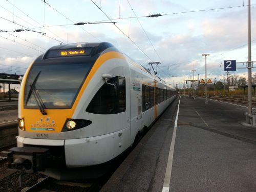 euro rail train traffic