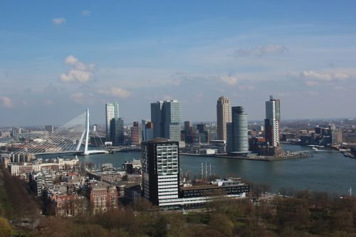 euromast erasmus bridge rotterdam