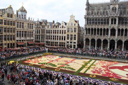 europe brussels flowers