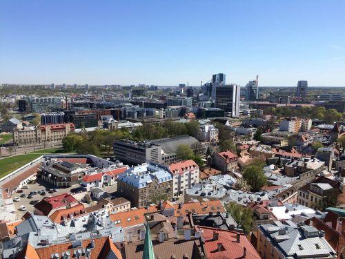 europe tallinn panorama