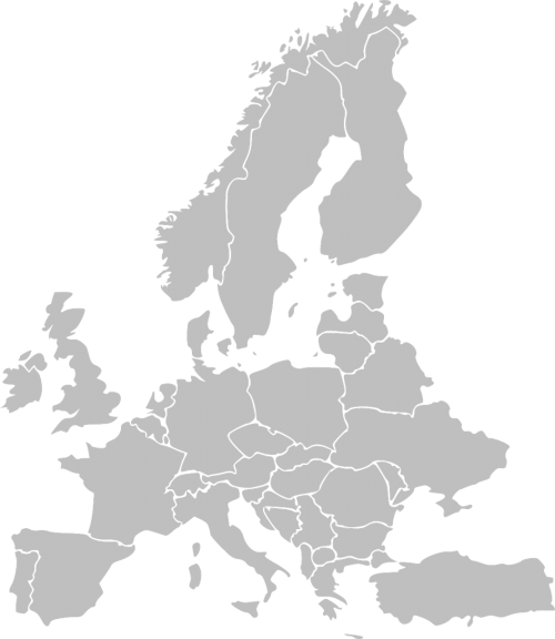 europe map countries
