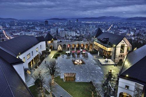europe  ljubljana  castle