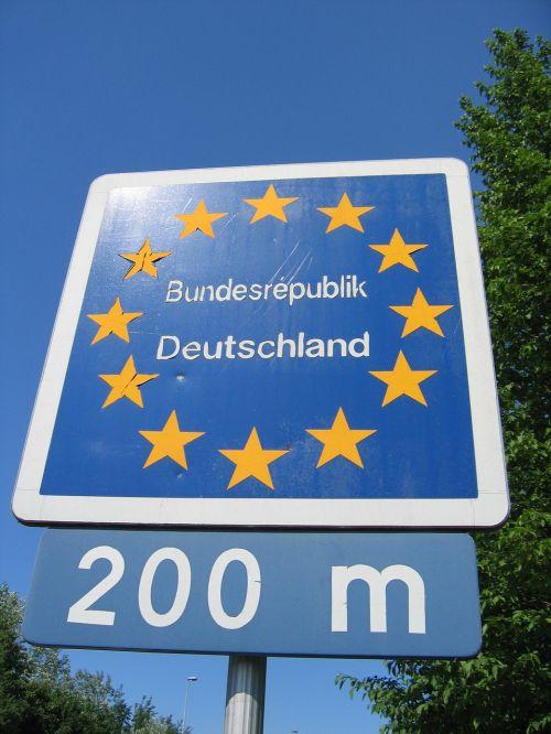 europe border germany