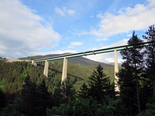 europe bridge  sky  bridge