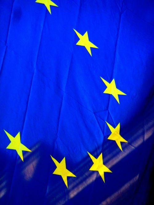 europe flag europe blue