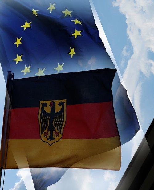 europe flag  germany flag  europe