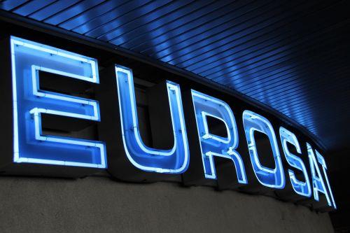 eurosat roller coaster lettering