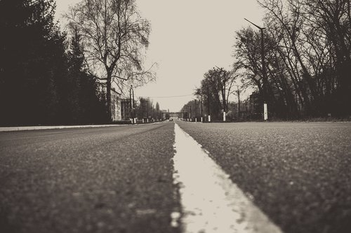 evacuation  chernobyl  road