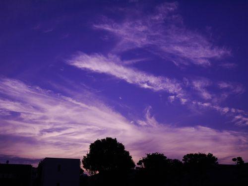 evening views sky