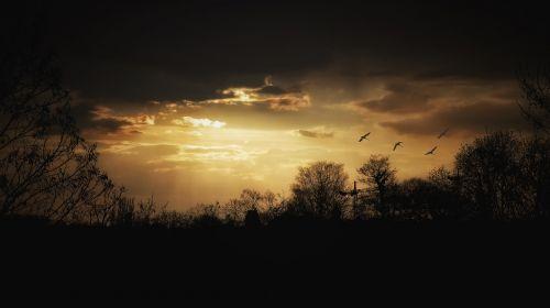 evening mood twilight