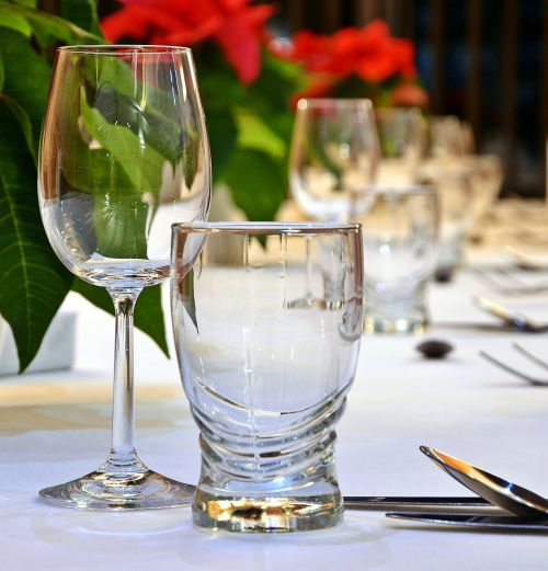 event wine glasses tableware