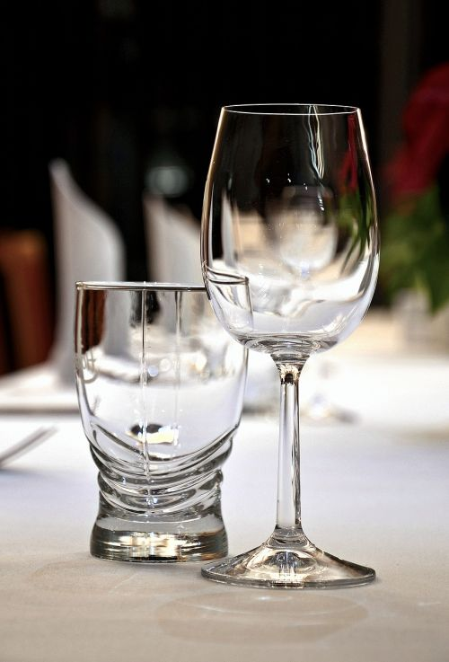 event the adoption of wine glasses