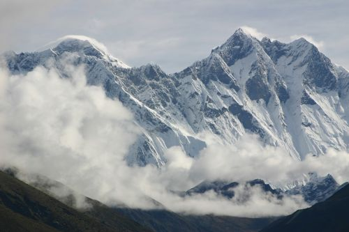 everest lhotse himalaya